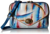 Anuschka Women's Genuine Leather Convertible Travel Organizer Shoulder/Crossbody Bag