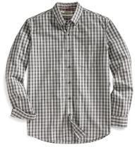 Amazon Brand - Goodthreads Men's Standard-Fit Long-Sleeve Gingham Slub Shirt
