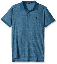 U.S. Polo Assn. Men's Classic Fit Solid Short Sleeve Poly Pique Shirt
