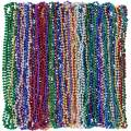 "Party City Mardi Gras Bead Supplies, 30"" Long Necklaces, 1440 Count, Includes Purple, Green, Gold, Red, Blue, and Silver"