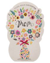 American Greetings Mother's Day Card from Daughter (Bouquet)