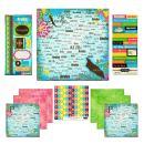 Scrapbook Customs Themed Paper and Stickers Scrapbook Kit, Aruba Paradise