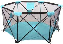 BalanceFrom Portable Play Yard Play Pen with Carrying Case, Indoor and Outdoor