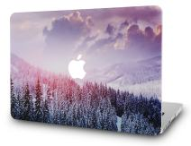"KECC Laptop Case for Old MacBook Pro 13"" Retina (-2015) Plastic Case Hard Shell Cover A1502 / A1425 (Snow Mountain 2)"