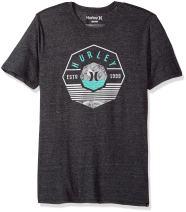 Hurley Men's Premium Short Sleeve Logo Tshirt