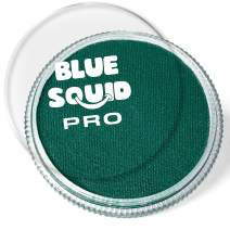 Blue Squid PRO Face Paint - Classic Forest Green (30gm), Superior Quality Professional Water Based Single Cake, Face & Body Makeup Supplies for Adults, Kids & SFX