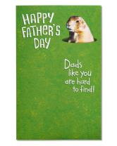 American Greetings Funny Father's Day Card (Golf Course)