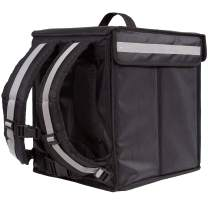 Insulated Food Delivery Backpack - Pro Quality - Ideal for Uber Eats, DoorDash, Postmates, or Groceries. New Model for 2020