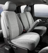 Fia OE37-36 GRAY Custom Fit Front Seat Cover Split Seat 40/20/40 - Tweed, (Gray)