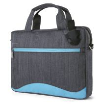 "Vangoddy Wave 2-in-1 Messenger Bag + Briefcase for up to 15.6"" Laptops (VGWave15SBLU)"