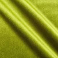 Bellagio Plush Darling Velvet Fabric, Kiwi, Fabric By The Yard