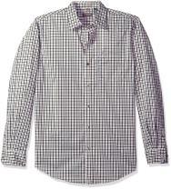 Van Heusen Men's Traveler Stretch Long Sleeve Button Down Non Iron Shirt