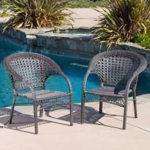Malibu Patio Furniture ~ Outdoor Wicker Dining Chairs and Table Sets