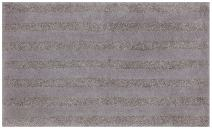Mohawk Basic Stripe Cloud Burst Plush Striped Washable Bath Mat, 17x24, Gray