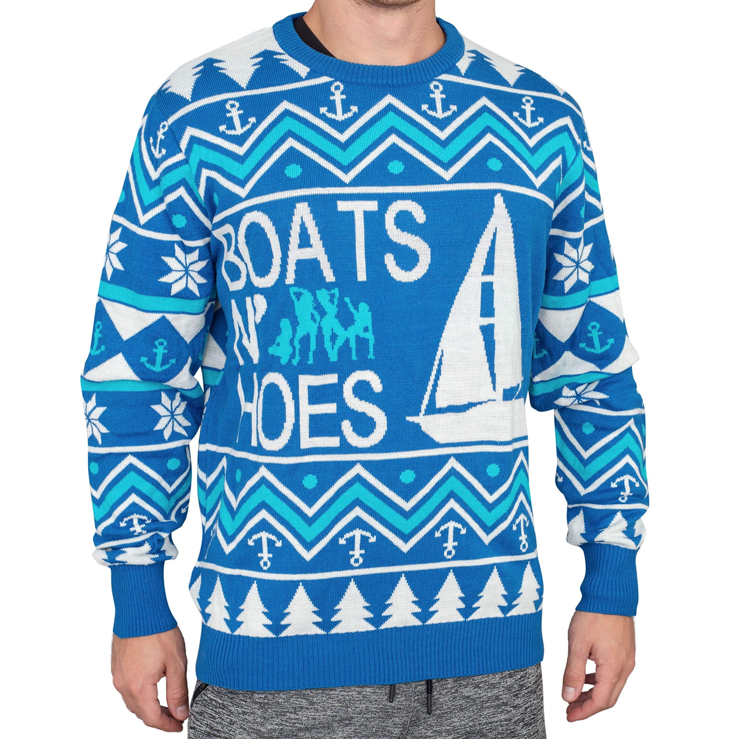 Step Brothers Boats N' Hoes Ugly Christmas Sweater