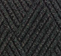 """M+A Matting 296 Waterhog DiamondCord Polypropylene Fiber Interior/Scraper Wiper Floor Mat, SBR Rubber Backing, 8' Length x 3' Width, 3/8"""" Thick, Green Cord"""