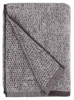 Everplush Diamond Jacquard Quick Dry Bath Towel, 1 Pack (30 x 56), Grey