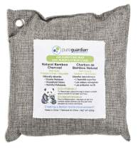 Guardian Technologies Pure Guardian CB500 Bamboo Charcoal Air Purifying Bag, 500g, Eco-Friendly, Naturally Absorbs Odors, Excess Moisture and Pollutants, 1-Pack, Grey