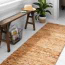 """Amazon Brand – Stone & Beam Contemporary Speckle Wool Runner Rug, 2' 3"""" x 7' 6"""", Copper"""