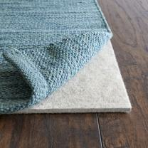 "Rug Pad USA, 1/4"" Thickness,  7'x7', Eco Plush Felt Rug Pads- Preserve Rug, Protect Floor"