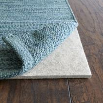 "Rug Pad USA, 1/4"" Thickness,  8'x8', Eco Plush Felt Rug Pads- Preserve Rug, Protect Floor"