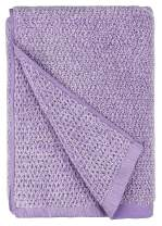 Everplush Diamond Jacquard Quick Dry Bath Towel, 1 Pack (30 x 56), Lavender