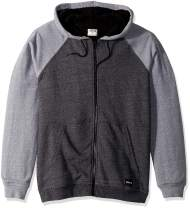 Hurley Men's Long Sleeve Sherpa Lined Zip Up Hoodie