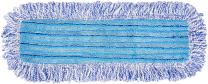 AmazonBasics Microfiber Dust Mop Cleaning Pad With Loops, 18 Inch, 12-Pack