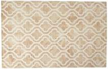 Safavieh Dip Dye Collection DDY537G Handmade Geometric Moroccan Watercolor Beige and Ivory Wool Area Rug (5' x 8')