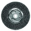 """Century Drill & Tool 76864 Coarse Crimped Bench Grinder Wire Wheel, 6"""" (wide face)"""