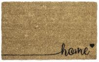 "Entryways Home , Hand-Stenciled, All-Natural Coconut Fiber Coir Doormat 18"" X 30"" x .75"""