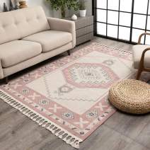 """Well Woven Kendre Blush Tribal Medallion Area Rug 8x10 (7'10"""" x 10'6"""")"""