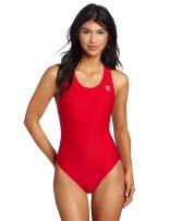 TYR Sport Women's Solid Maxback Swim Suit