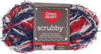 Red Heart Scrubby Yarn, Americana