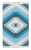 Jaipur Living Mojave Indoor/ Outdoor Tribal Blue Area Rug (8' X 10')