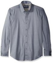 Robert Graham Men's Taner Long Sleeve Tailored Fit Woven Shirt