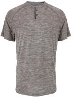 LeeHanTon Henley Shirts for Men Short Sleeve Athletic Sport T-Shirts Quick Dry Slim Fit Casual Basic Top