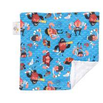 "Original Baby Elephant Ears Boys & Girls Baby Blanket-Soft Minky, for Newborn Infants & Toddlers, Plush Blanket - (Baby Red Beard, Mini 12"" x 12"")"
