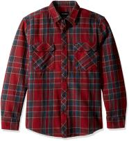 Brixton Men's Bowery Long Sleeve Flannel