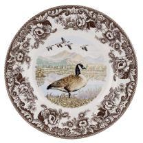 Spode Woodland Canadian Goose Dinner Plate