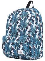 SIMPLAY Classic School Backpack Bookbag, JungleLeaves
