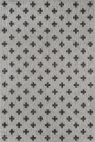 """Novogratz Villa Collection Umbria Indoor/Outdoor Area Rug, 7'10"""" x 10'10"""", Grey"""