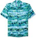 Cubavera Men's Short-Sleeve Tropical Shirt
