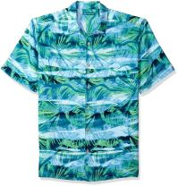 Cubavera Men's Short-Sleeve Tropical Shirt