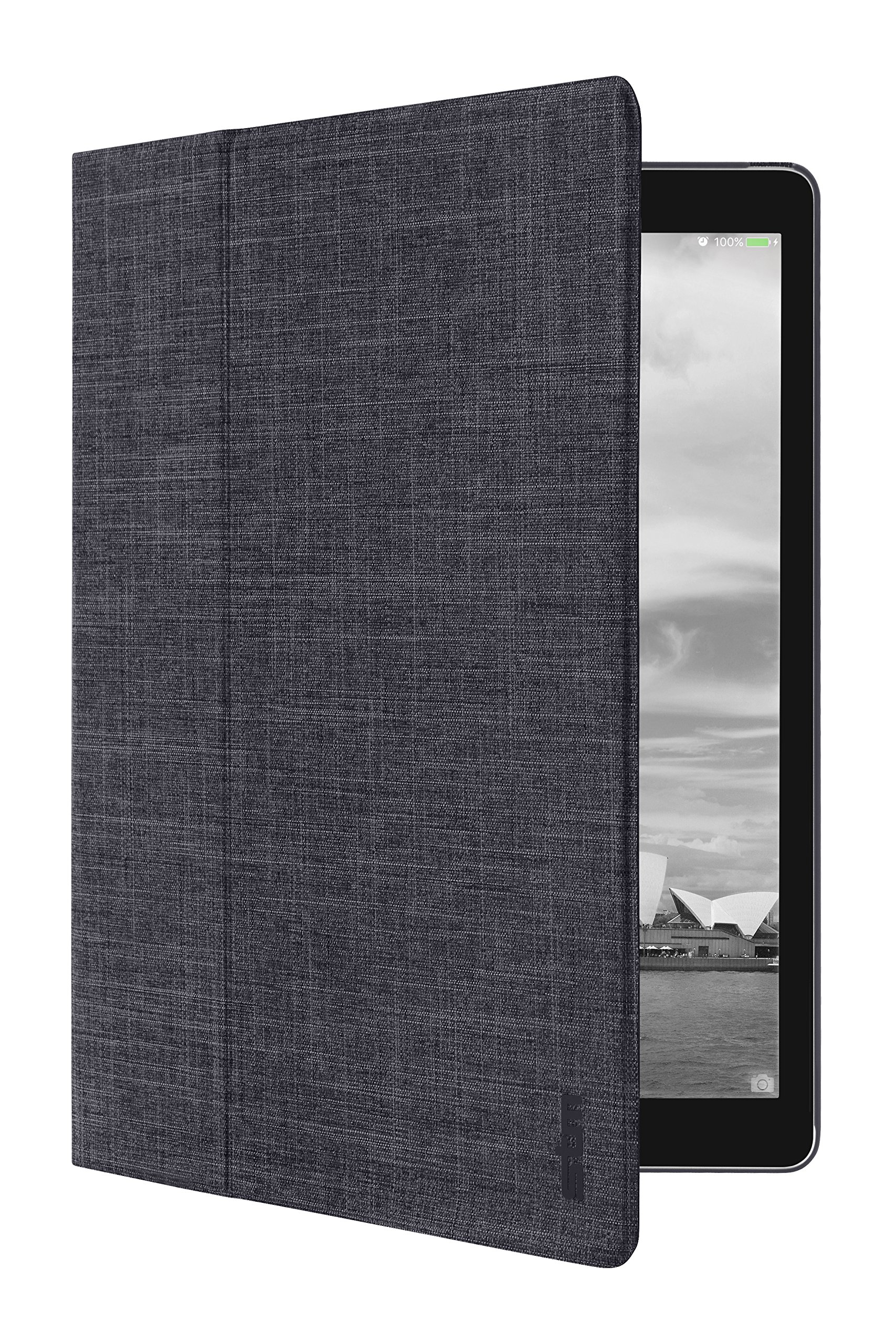 STM Atlas Slim Folio Case for Apple iPad Pro 12.9, 2015 1st Generation Case - Charcoal (stm-222-109L-16)