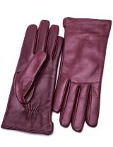 YISEVEN Womens Winter Dress Leather Gloves Touchscreen Wool Lined Flat Design