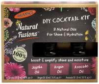 Palmer's Natural Fusions DIY Cocktail Kit, contains 3 Natural Oils for Hair Shine & Hydration, 3 x .33 fl. oz.