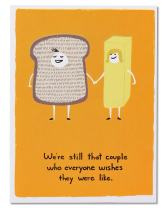 American Greetings Funny Anniversary Cards (Bread and Butter)