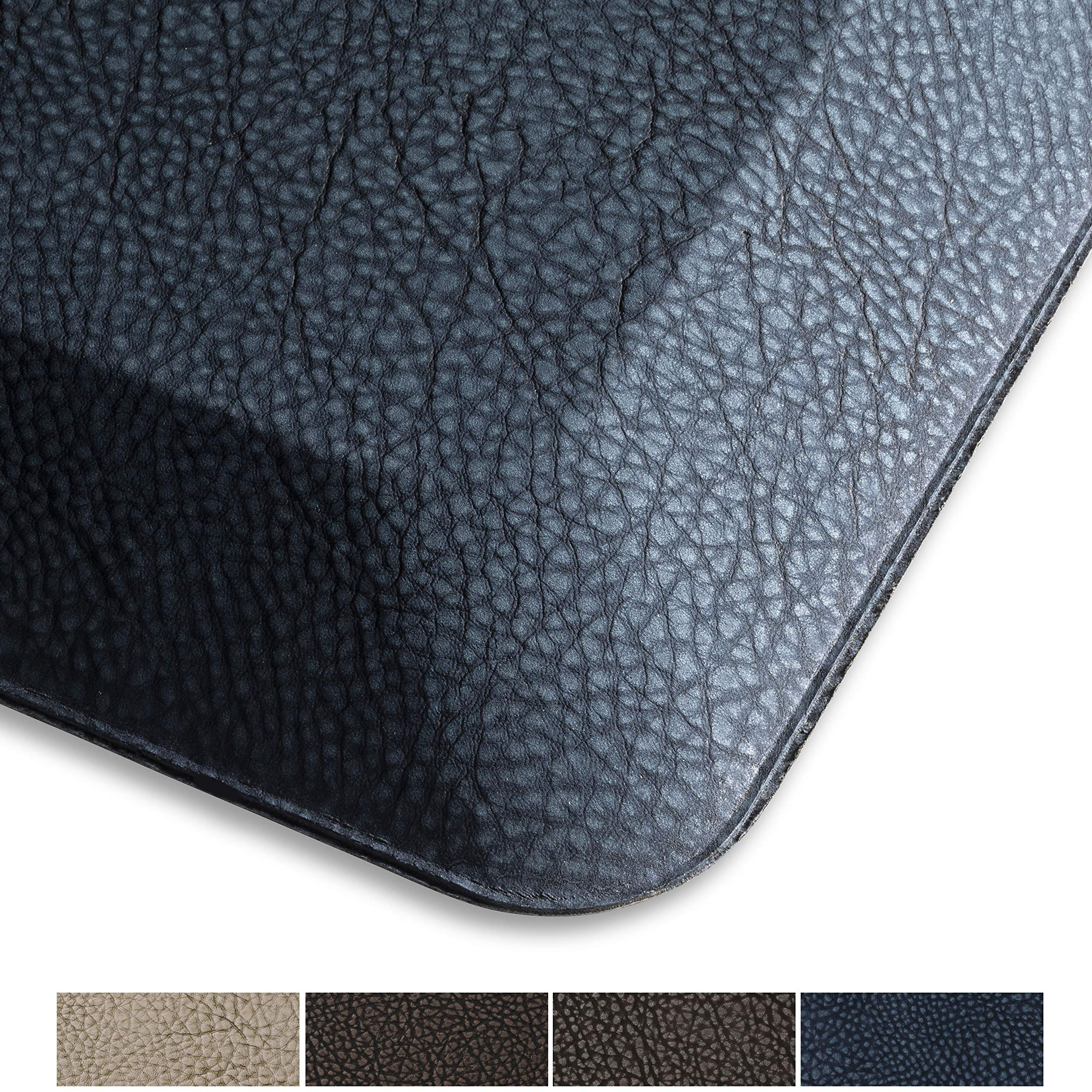 """SoHome Air Step Anti-Fatigue Standing Mat, Great for Home, Kitchen and Office, Commercial Grade Non Slip Backing, 3/4 Inch Thick, Phthalate Free, Supports Foot, Knee, and Back,20""""x32"""" Navy Blue"""