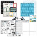 Scrapbook Customs Themed Paper and Stickers Scrapbook Kit, Swimming Journal